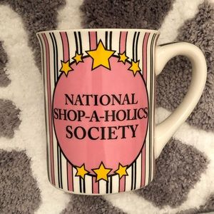 National Shopaholics Society Mug